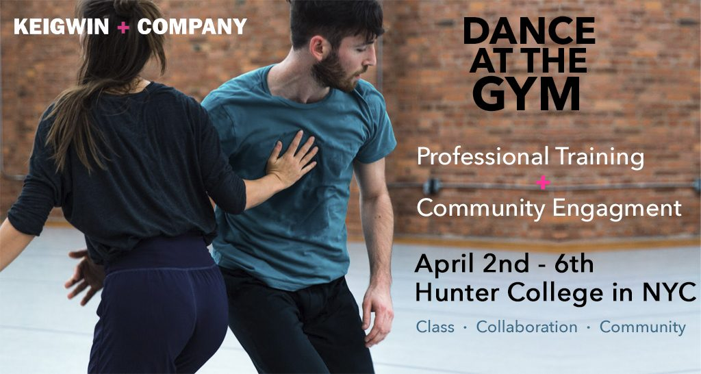 KEIGWIN + COMPANY's Dance at the Gym