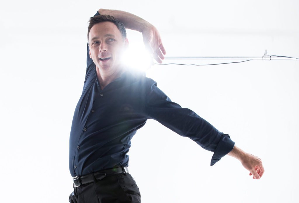 Larry Keigwin choreographs campus show
